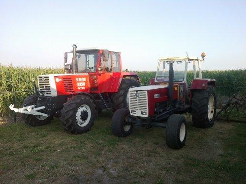 Foto van een Steyr 1090.steyr 8150 en 1090. Geplaatst door steyr-wanroy op 21-07-2013 om 21:29:57, op TractorFan.nl - de nummer 1 tractor foto website.