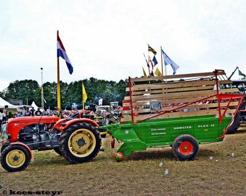 Een Steyr 188 + een Steyr Ladewagen waren te bewonderen op internationaal historisch festival (IHF) te Panningen.