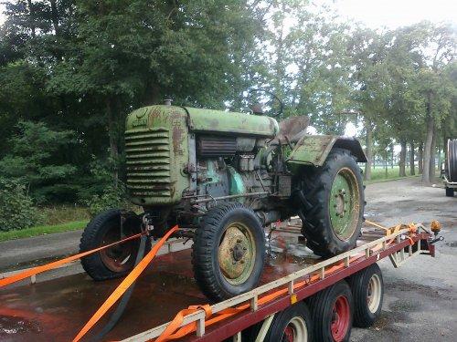 Foto van een Steyr 180 A.steyr 180a. Geplaatst door steyr-wanroy op 18-08-2013 om 21:32:13, op TractorFan.nl - de nummer 1 tractor foto website.
