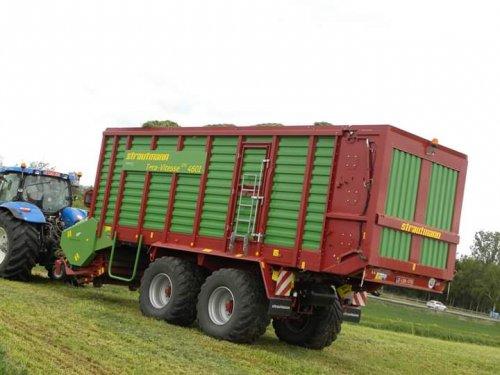 Foto van een Strautmann tera vitesse volg ons op facebook, youtube of instagram (tractorspotting) voor meer foto's