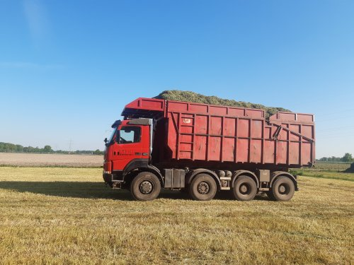 Foto van een Terberg FM1950  Weekje vakantie genomen op de zaak, om hier en daar wat voorjaarswerk te doen. Vandaag gras gereden met deze truck.  De grond is nu zo hard, dat je nauwelijks inspoort.