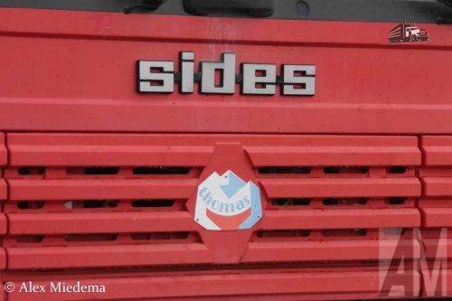 Foto van een Thomas crashtenderchassis, opgebouwd als brandweer.. Geplaatst door Alex Miedema op 28-02-2016 om 15:05:18, op TractorFan.nl - de nummer 1 tractor foto website.