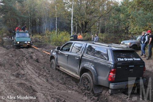 Toyota HiLux van Alex Miedema