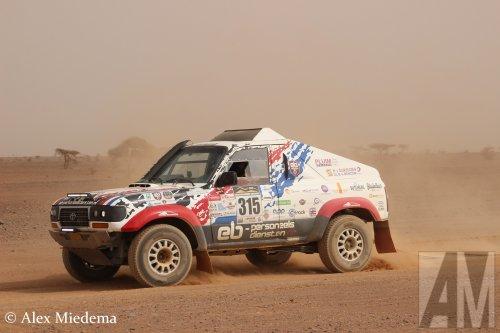 Toyota Landcruiser van Alex Miedema