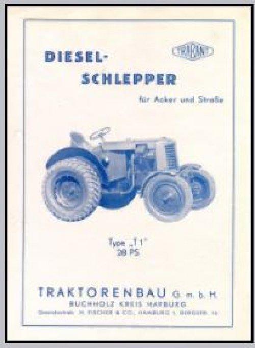 Foto van een Trabant onbekend/overig Gespot op internet, een Trabant landbouwtrekker 28 pk Ik heb nooit geweten dat Trabant trekkers bouwde