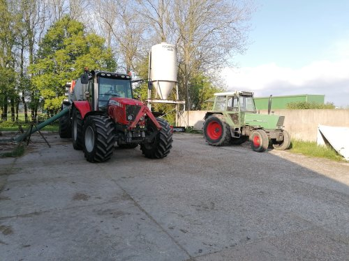 Tractors Diverse van mf 6150