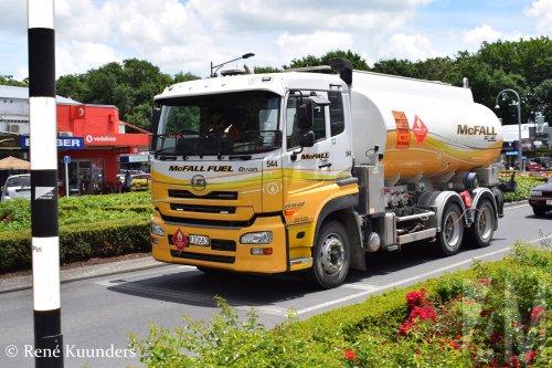 Foto van een UD Quon, opgebouwd voor tanktransport.. Geplaatst door Alex Miedema op 23-03-2019 om 18:46:15, op TractorFan.nl - de nummer 1 tractor foto website.