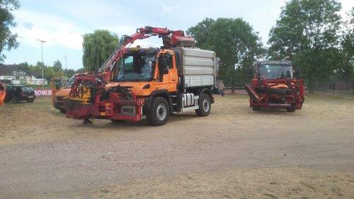 Foto van een Unimog U400. Geplaatst door jcb416s op 09-08-2018 om 20:15:00, op TractorFan.nl - de nummer 1 tractor foto website.