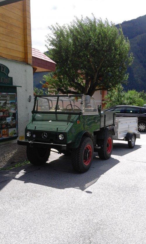 Unimog 401 van Bram Volvo power