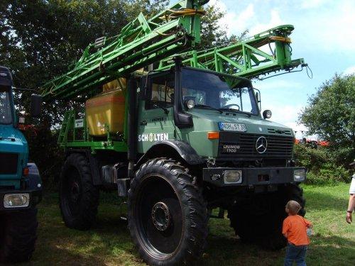 Unimog U1700 van farmnico