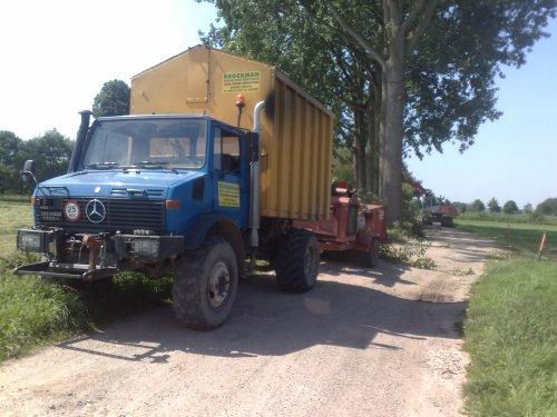 Unimog U1700 van fezw