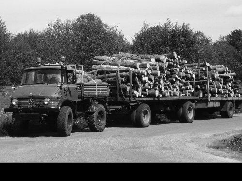 Unimog 406 van houthandel1056