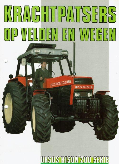 Ursus Bison van mklok