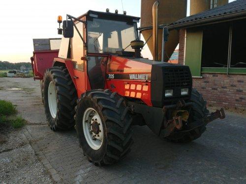 Valmet 705 van Jochem124