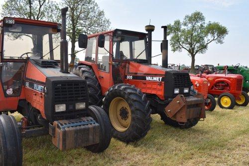Foto van een Valmet 805. Geplaatst door jordi 1455 op 07-06-2019 om 20:06:51, op TractorFan.nl - de nummer 1 tractor foto website.