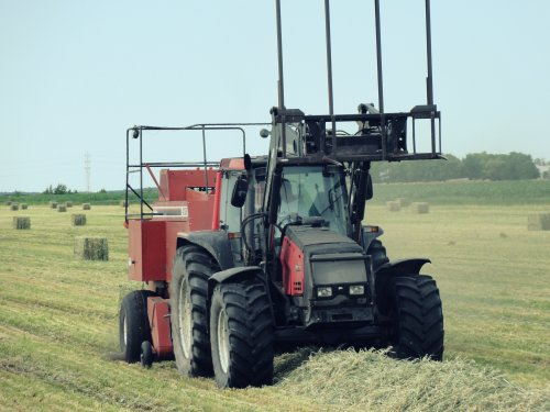 Valtra 8550 van inter fan