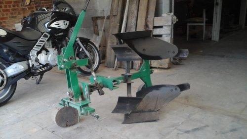 Ploeg van een mini tractor die nog als nieuw is .. Geplaatst door fordson dext op 31-07-2017 om 13:03:13, met 7 reacties.