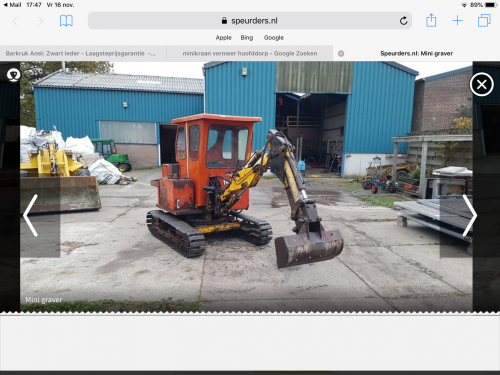 Foto midikraan vermeer dinky digger. Geplaatst door Romke-Roel op 24-01-2019 om 15:58:09, op TractorFan.nl - de nummer 1 tractor foto website.