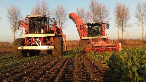 Foto van een Vervaet Beet Eater 925  Loonbedrijf Hage. Geplaatst door manus op 04-12-2019 om 12:32:31, op TractorFan.nl - de nummer 1 tractor foto website.