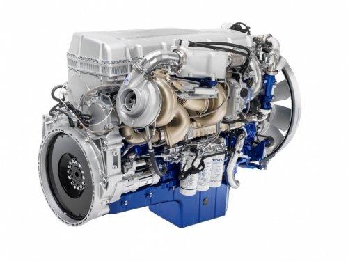 Persfoto van een Volvo FH16 Euro 6 motor. Zie ook het persbericht op http://alexmiedema.nl/2014/04/01/verkoop-volvo-fh16-euro-6-gestart/