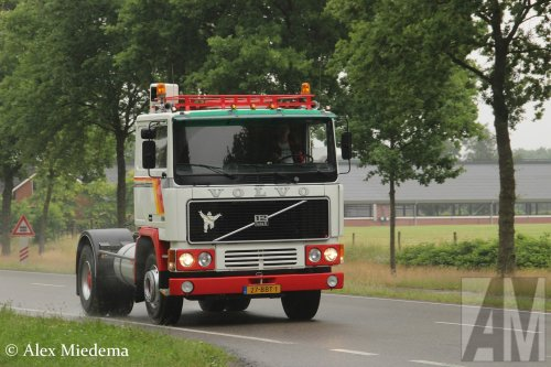 Volvo F12 van Alex Miedema