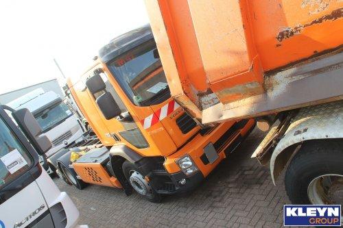 Foto van een Volvo FE Hybrid, opgebouwd zonder opbouw.. Geplaatst door Katy Kleyn op 27-07-2018 om 10:55:17, op TractorFan.nl - de nummer 1 tractor foto website.