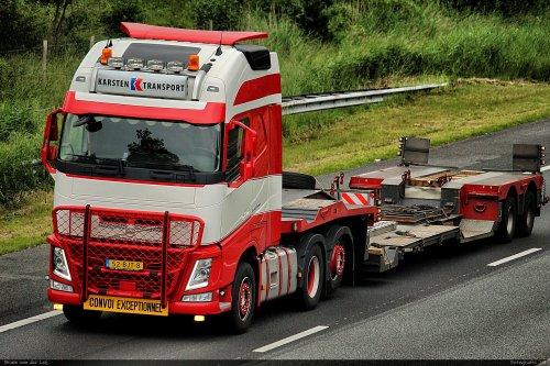 Volvo FH van Bram van der Leij