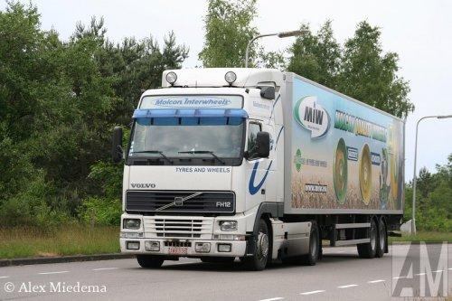 Volvo FH12 1st gen van Alex Miedema