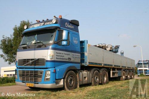 Foto van een Volvo FH16 2nd gen, opgebouwd voor steentransport.. Geplaatst door Alex Miedema op 05-09-2014 om 17:55:15, op TractorFan.nl - de nummer 1 tractor foto website.