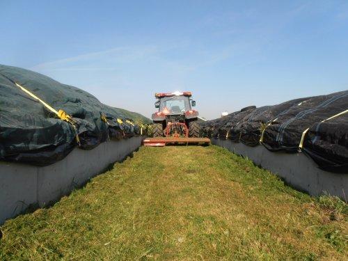 Foto van een Votex Weidebloter, bezig met gras maaien.. Geplaatst door japie82 op 11-10-2012 om 20:25:53, met 34 reacties.