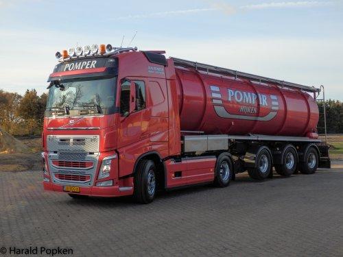 vrachtwagen Volvo van HaraldCASE-IHfan