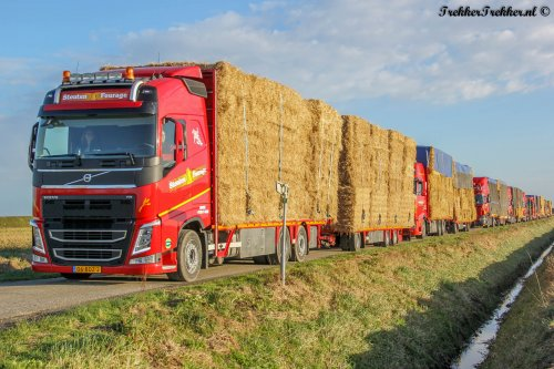 vrachtwagen Volvo van Boerenjongen16