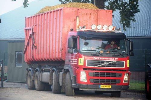 vrachtwagen Volvo Wallpaper