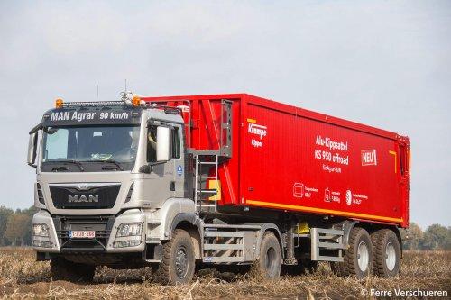 vrachtwagen M.A.N. van FerreV