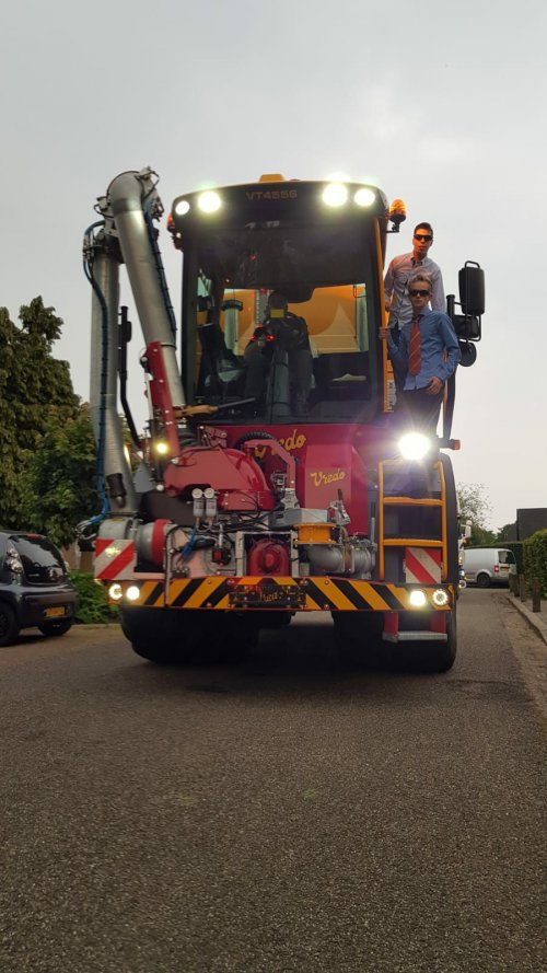 Foto van een Vredo VT 4556. Geplaatst door Vanschaik op 22-02-2019 om 11:43:07, op TractorFan.nl - de nummer 1 tractor foto website.