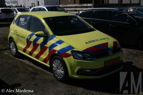 VW Polo van Alex Miedema