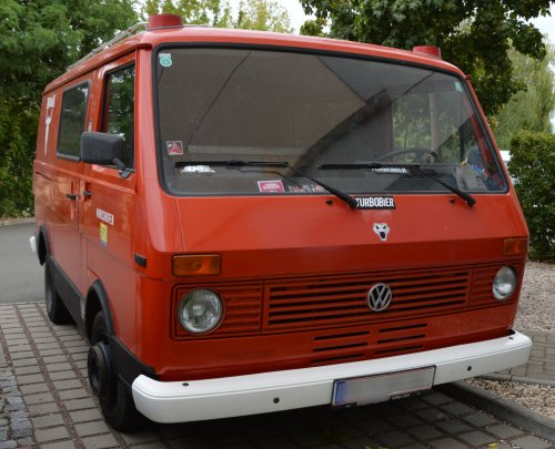 Foto van een VW LT 1st gen, opgebouwd overig / onbekend.. Geplaatst door buttonfreak op 30-07-2019 om 17:41:43, op TractorFan.nl - de nummer 1 tractor foto website.