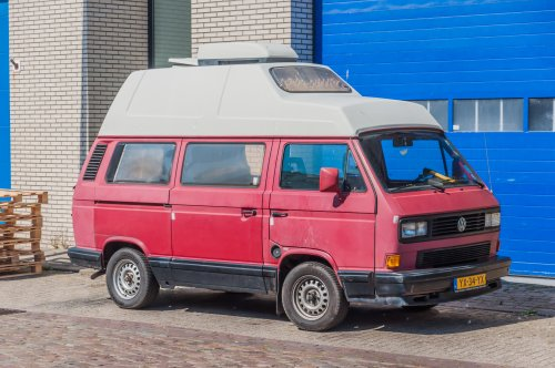 VW Transporter T3 van xrayjaco