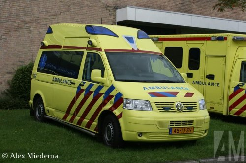 VW Transporter T5 van Alex Miedema