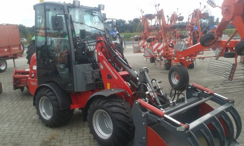 Weidemann 1160 van T6020 power