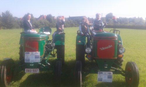 Foto van mijn 2 wesseler. Een W28 en een WL 24.. Geplaatst door BjornV op 23-06-2019 om 11:06:52, op TractorFan.nl - de nummer 1 tractor foto website.