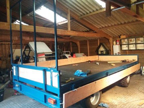 Foto van een Zelfbouw Oprijwagen. Geplaatst door jannie2001 op 10-09-2019 om 16:46:00, met 2 reacties.