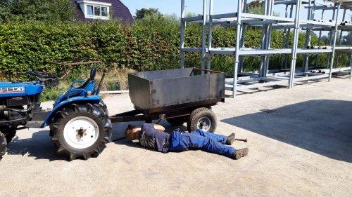 Foto van een Zelfbouw Kipper in aanbouw. Geplaatst door jochem-vahl op 19-09-2019 om 06:46:04, op TractorFan.nl - de nummer 1 tractor foto website.