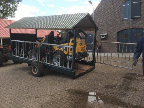 Zelfbouw Oprijwagen van newholland6640