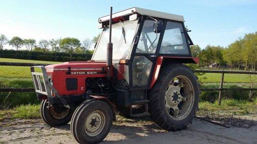 Zetor 5011 van landbouwbrabant
