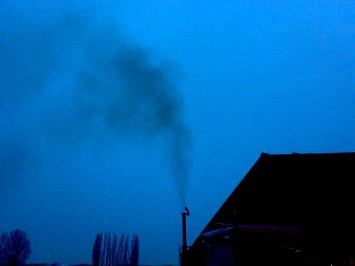 Foto van een Zetor 6321, bezig Mixen. en dat rookt dus... Geplaatst door Valtra-Fordpower op 19-03-2009 om 18:09:33, met 8 reacties.
