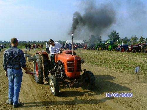 Foto van een Zetor 3011, bezig met tractorpulling. van de bhtc op de zijveling bestuurder arjan. Geplaatst door daruler op 19-09-2009 om 21:57:33, met 4 reacties.