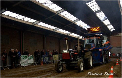 Foto van een Zetor 4511, bezig met trekkertrekken.. Geplaatst door Same Minitauro 60 op 06-03-2013 om 19:59:54, op TractorFan.nl - de nummer 1 tractor foto website.