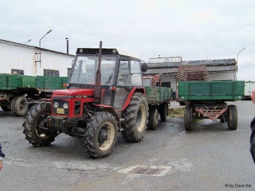 Zetor 7245 van Clear-up