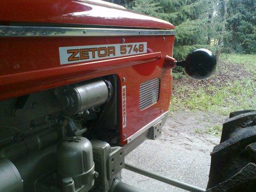 Zetor 5748 van p2opel